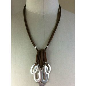 Robert Lee Morris Boho Genuine Leather Necklace